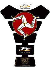 Isle of Man TT Races Official Black 3D Gel Tankpad Protector Suzuki/Yamaha/Honda
