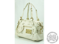 Final Price!! AUTH LOUIS VUITTON WHITE SUHALI LEATHER RIVETING BAG M95345 140465
