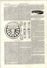 1889 Barry Dock GHISA RUOTE MOTRICI AMERICA DOUBLE Plate refrigerate RUOTA