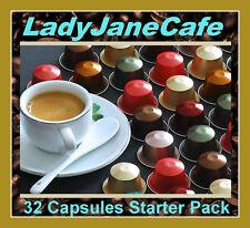 32 CAPSULE NESPRESSO Degustatore, confezione starter, 2 x principale caffè