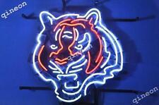 New Cincinnati Bengals NFL FOOTBALL REAL NEON SIGN BEER BAR LIGHT Fast Shipping