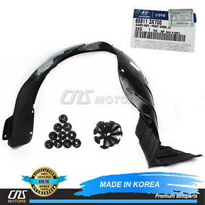 PartsChannel OE Replacement Fender Liner Hyundai Elantra Coupe