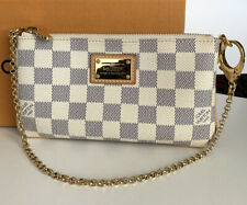 Louis Vuitton Milla Clutch MM Damier Azur