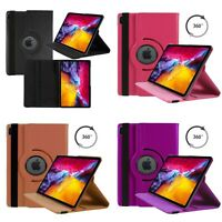 Case For For Apple iPad Air 10.9 inch 2020 4th Gen PU Leather 360 Rotating Cover