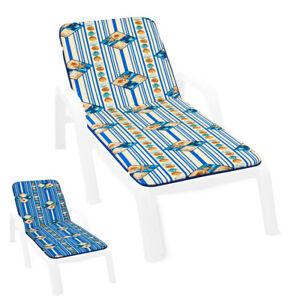 Cushion Sdeckchair Soft Home Pool Sea Cover Sitting Sun Bed To Stripes Shells