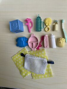 Barbie baby Krissy Kelly Nikki Accesories