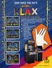 Atari Klax Arcade FLYER 1989 Original NOS Video Game Retro Game Paper Artwork