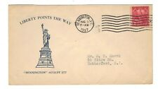 FDC  #  643-7  Mauck  cachet -- Bennington Issue