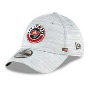 TAMPA BAY BUCCANEERS NEW ERA ROAD SIDELINE 39THIRTY STRETCH FIT HAT ALL SIZES