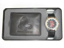 Official MLB Boston Red Sox Watch & Wallet Gift Set by Sparo, Rico WTWAW3901