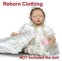 """Reborn Clothing Reborn Doll Baby Girl Clothes outfit NOT Included Doll 20-22"""""""