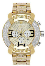 Aqua Master Gold Tone Chronograph 20 Diamond Quartz Men's Watch  W-96