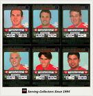 2001 Teamcoach Trading Cards Silver Prize Team set Melbourne (6)