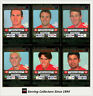 2001 Teamcoach Trading Cards Silver Prize Team set Melbourne (6)