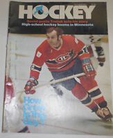 Hockey Magazine Tretiak Cincinnati And Minnesota October 1977 092214R
