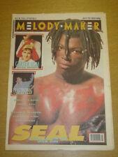 MELODY MAKER 1991 JAN 19 SEAL CARTER USM ELECTRONIC