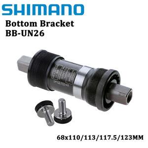Shimano BB-UN26 68x110/113/117.5/123mm MTB Bike Bottom Bracket Square Taper