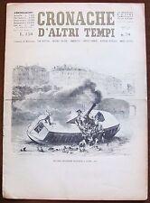 CRONACHE D'ALTRI TEMPI - N.70, 1960 - Incidente fluviale a Lione* >>>