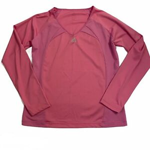 adidas Athletic Gym Workout Long Sleeve Top, Women's *See Measurements*