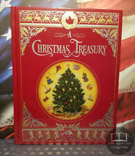 NEW SEALED A Christmas Treasury Bonded Leather Illustrated - Dickens Carol