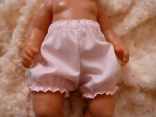 "BJB dolls clothes, Pink knickers pants fit 18"" baby born doll"