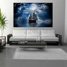 Beautiful Ship at Sea Diamond Embroidery 5D DIY Painting Cross Stitch Home Craft
