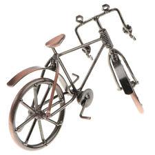 Modèle de Vélo Rétro Classique Fait Main Fer Bicyclette Miniature