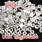 SS2-SS20 clear crystal Flatback Non-hotfix Rhinestone Nail Art Decoration DIY pk