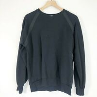 Ralph Lauren Polo Sport Black Spell Out Crewneck Pullover Sweatshirt Mens M