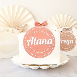 Personalised childrens ACTIVITY BOX | Wedding Party Gift Favour Boxes