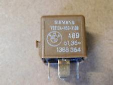 BMW E30 E32 E34 E46 SIEMENS 5-PIN Relay V23134-N59-X109 BMW Part 1388364