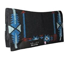 Arrow Black Blue Professional's Choice SMx HD Air Ride Western Saddle Pad Pro