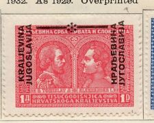 Jugoslavia 1932 Early Issue Fine Mint Hinged 1d. Optd 106111