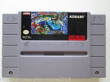 Teenage Mutant Ninja Turtles IV: Turtles in Time (Super Nintendo SNES, 1992)