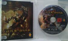 God Of War III. Ps3. Fisico. Pal España. (Sin Carátula)