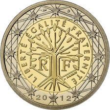 [#488065] France, 2 Euro, 2012, Proof / BE, FDC, Bi-Metallic, KM:1414
