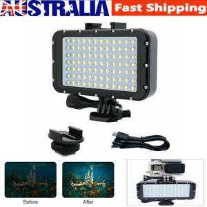 Waterproof Diving 50M LED Dive Underwater Flashlight Torch Light Lamp For GoPro