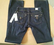 NWT Hudson Signature Bootcut Flap Pocket Jeans Sono Wash Womens Size 26