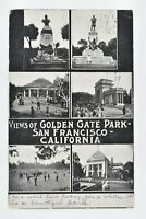 Vintage 1909 Views of Golden Gate Park San Francisco California CA Postcard