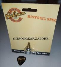 Gibson Les Paul Pot Historic 500k Audio Taper Short Shaft Guitar Parts R9 R7 R8