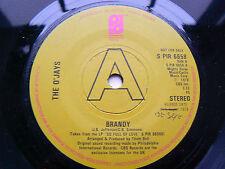 the o'jays      brandy  (PROMO ) (a1  /  b1  pressing ) EX