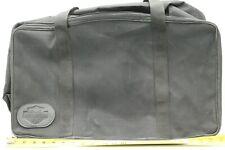 Harley Davidson Black Soft Nylon Travel Tour Pak Luggage Bag