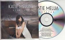 KATIE MELUA Ketevan 2013 UK numbered 11-track promo test CD