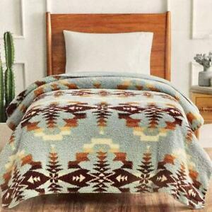 "Pendleton Sherpa Twin Soft Fleece Blanket 66"" X 92"" (167 CM X 233 CM)"