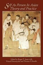 Self As Person in Asian Theory and Practice (1994, Paperback)