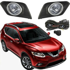 Fog Lamp For Nissan  Rogue / X-Trail 2014~2016 / Chrome Cover Halogen Fog Light