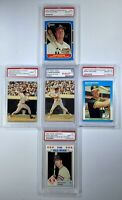 LOT of 5! Mark McGwire SUPER Set of 5 Gorgeous Cards! Mega Deal!