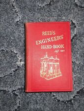 REED'S ENGINEERS' HANDBOOK BY W.H.THORN & SON VINTAGE
