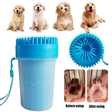 With Soft Brushes Dirty Removal TPR Fast Washing Foot Leg Dog Paw Cleaner Cup