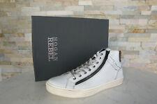 HOGAN Gr 43  9 Top Sneakers Schnürschuhe Vintage NEU Schuhe weiss ehem.UVP 310 €